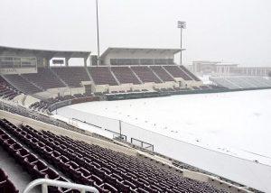 Dudy Noble Field in late February (Photo by Rhett Hobart)