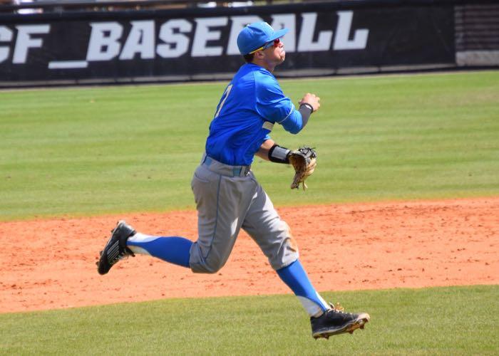 UCLA shortstop Kevin Kramer (Aaron Fitt)