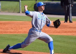 UCLA righthander James Kaprielian (Aaron Fitt)