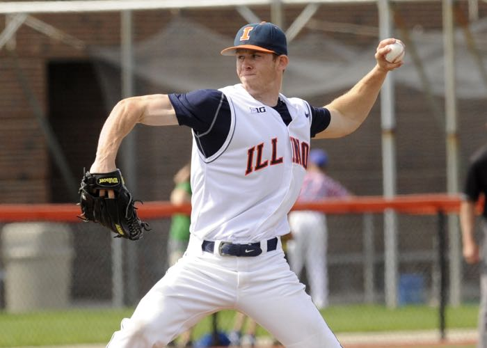 Illinois lefthander Tyler Jay (Illinois)