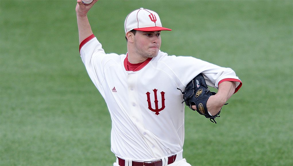 Scott Effross and Indiana need to finish strong to get into the postseason. (Indiana Athletics)