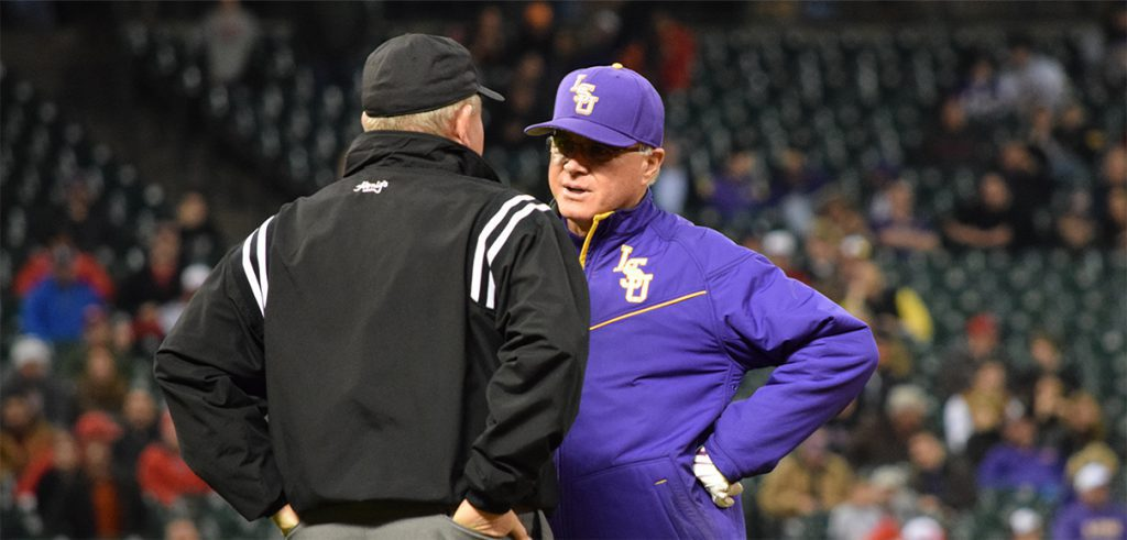 LSU's Paul Mainieri will now coach against his former assistant in the SEC West.
