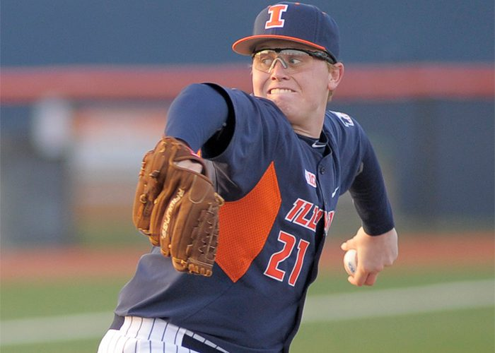 Illinois LHP Kevin Duchene (Illinois)