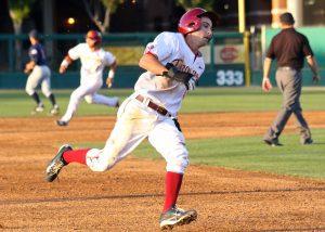 USC senior Garrett Stubbs' speed can cause problems.  (Shotgun Spratling)