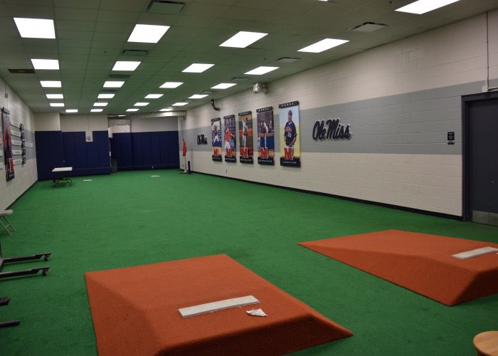 Ballpark tour ole miss for Design indoor baseball facility
