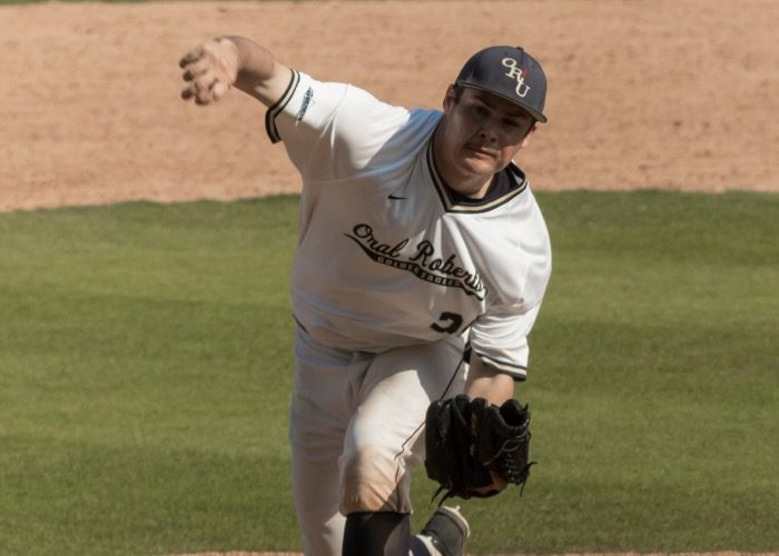 Oral Roberts two-way star Anthony Sequeira (ORU Athletics)