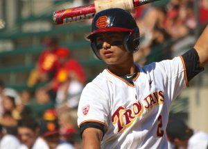 USC catcher Jeremy Martinez (Shotgun Spratling)