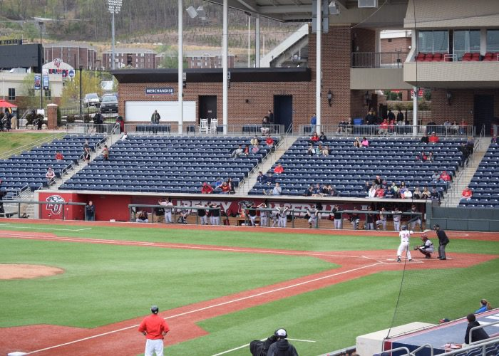 Liberty Baseball Stadium Aaron Fitt
