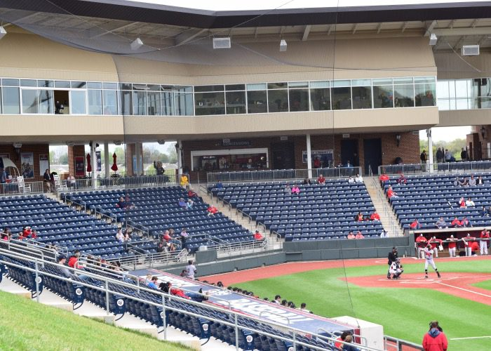 The Crowd Was Sparse For Maryland Game Because It Rescheduled From Tuesday And Weather Wasnt Ideal Ballpark