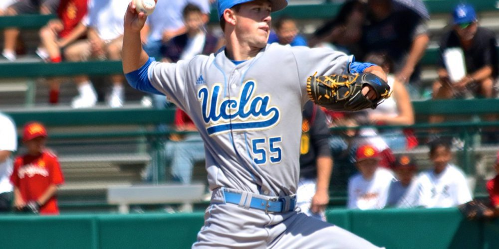 UCLA at USC - Griffin Canning