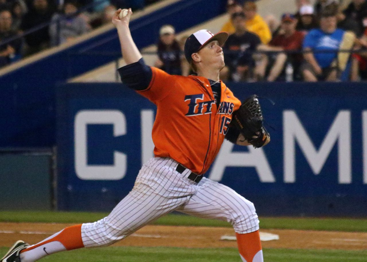 Arizona State vs Fullerton - Thomas Eshelman