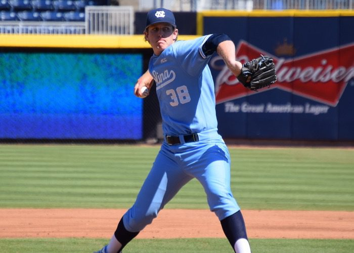 North Carolina's J.B. Bukauskas (Aaron Fitt)