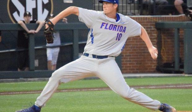 Florida lefthander A.J. Puk (Aaron Fitt)