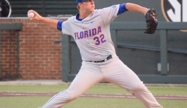 Florida's Logan Shore (Aaron Fitt)