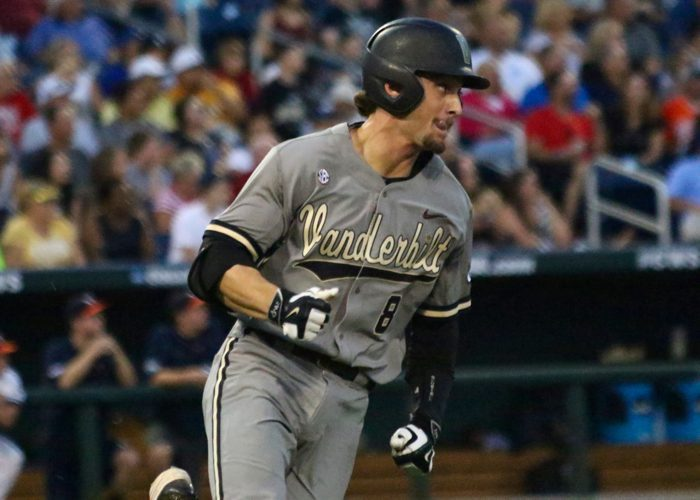 College World Series: Vanderbilt-Virginia -