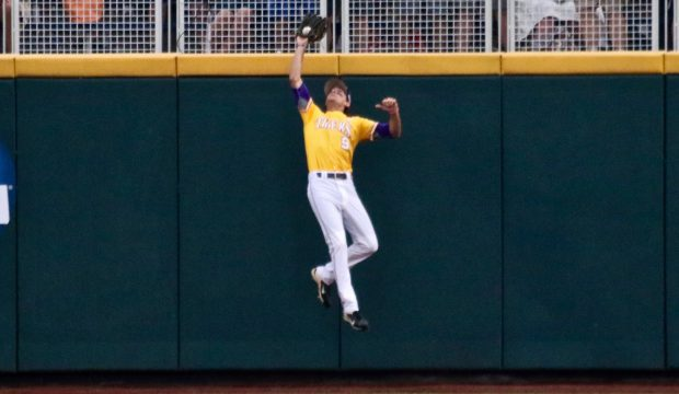 College World Series: LSU-TCU - Mark Laird