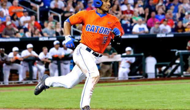 College World Series: Florida-Miami - Richie Martin
