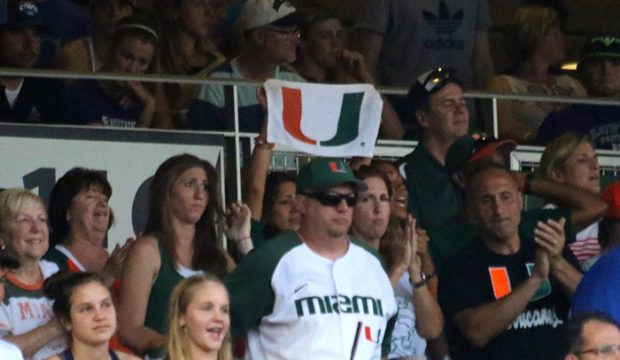 College World Series fans: Miami