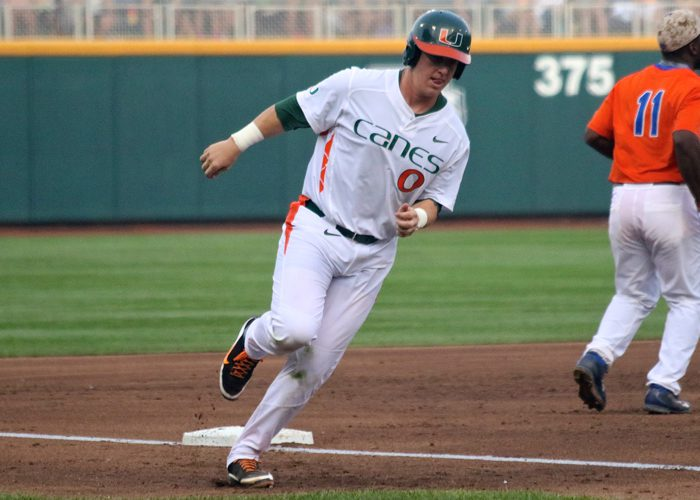 College World Series: Florida-Miami - Zack Collins