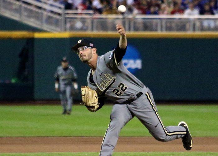 College World Series: Vanderbilt-TCU - Philip Pfeifer