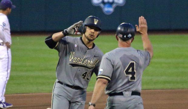 College World Series: Vanderbilt-TCU - Zander Wiel
