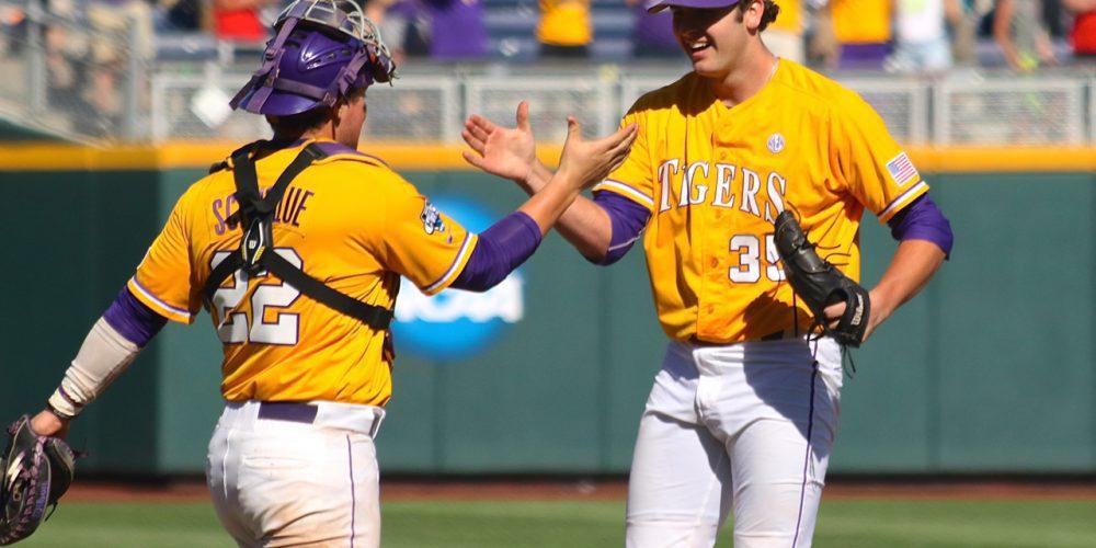 College World Series: LSU-Fullerton