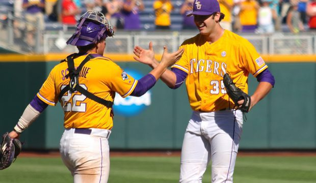 College World Series: LSU-Fullerton