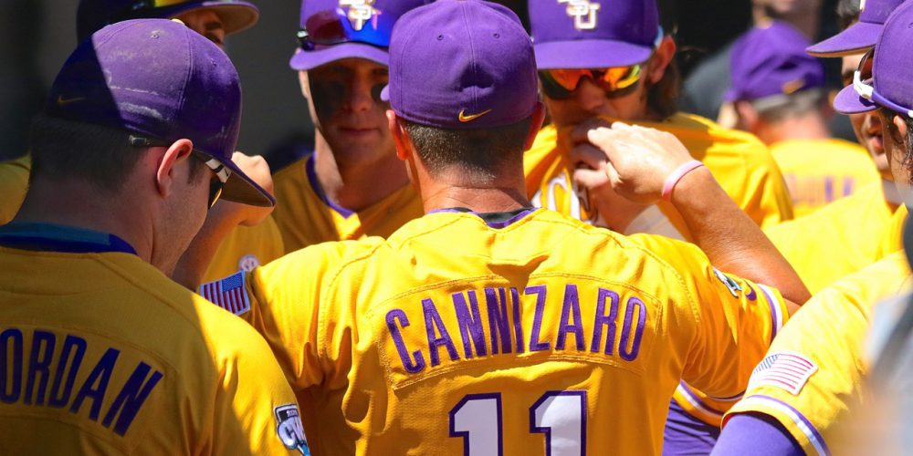 College World Series: LSU-Fullerton - Andy Cannizaro
