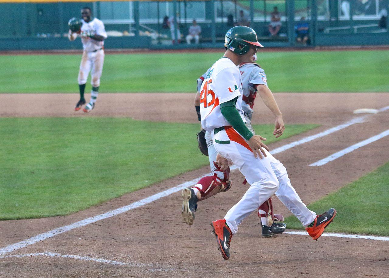 College World Series: Arkansas-Miami - Carl Chester
