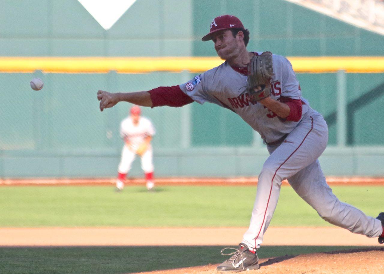College World Series: Arkansas-Miami - Lance Phillips