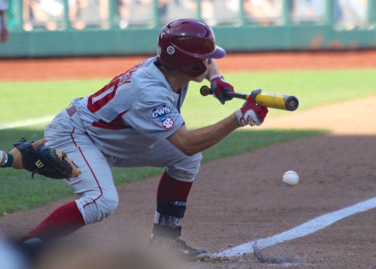 College World Series: Arkansas-Miami - Carson Shaddy