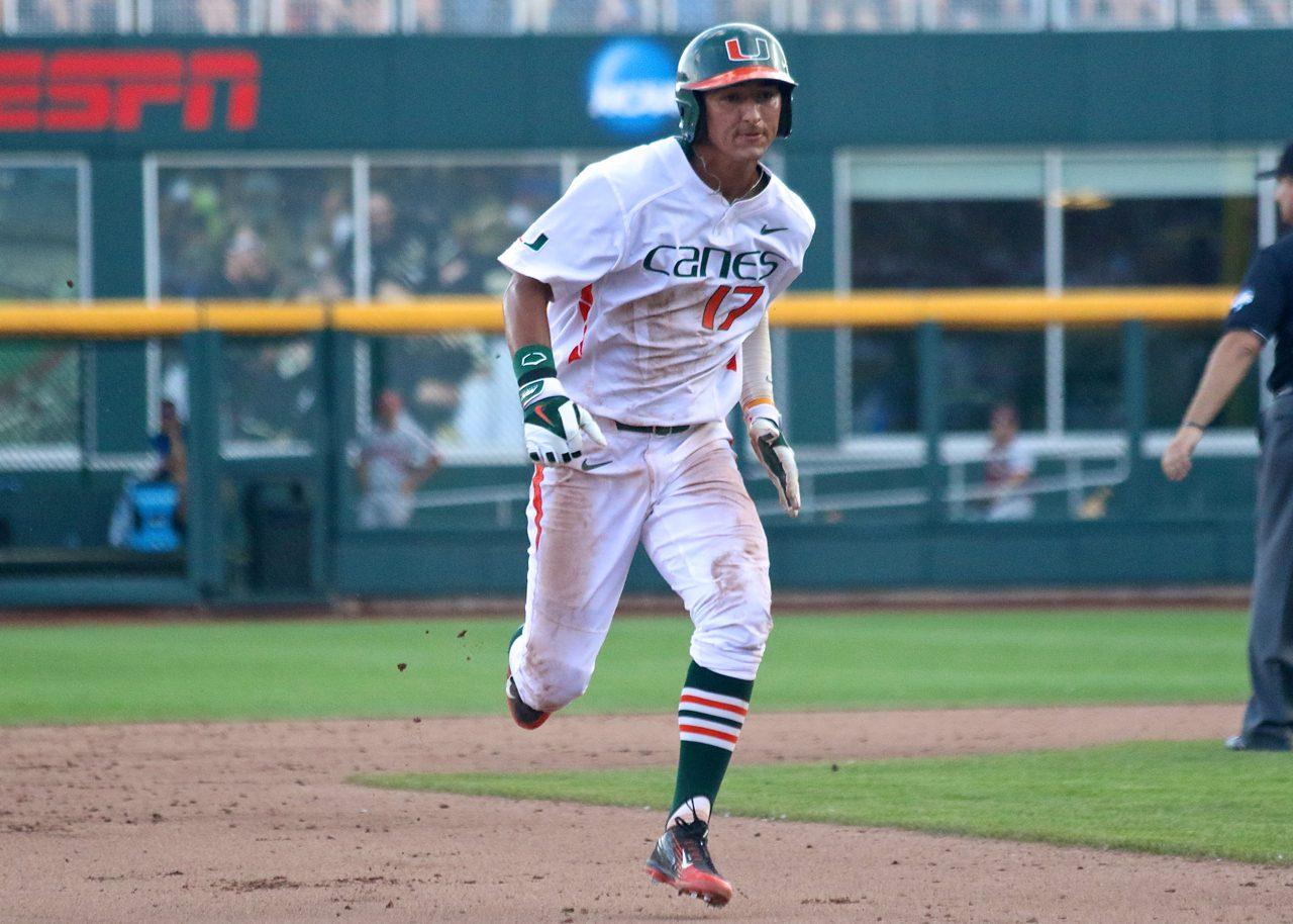 College World Series: Arkansas-Miami - Christopher Barr