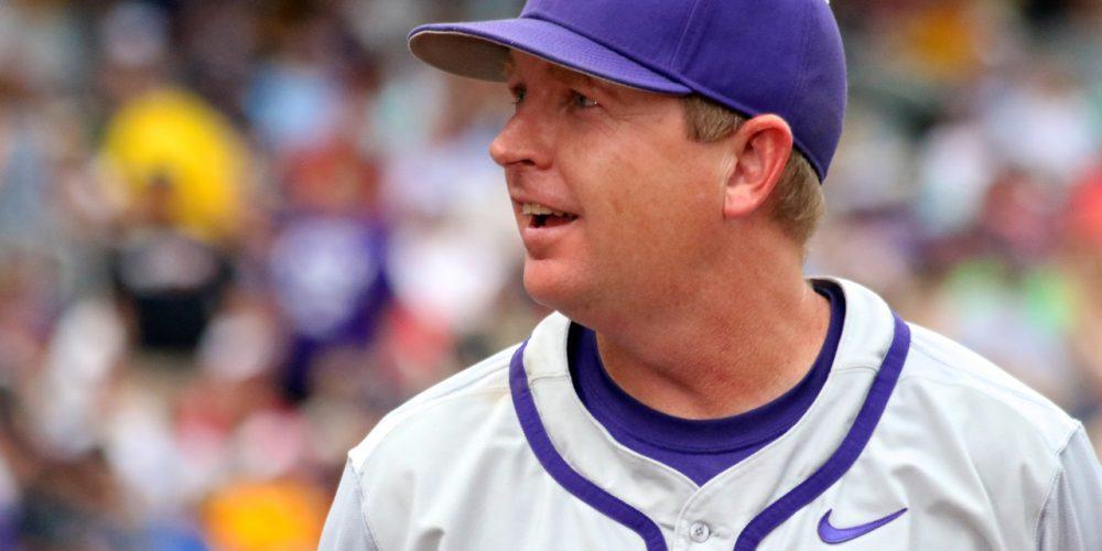 College World Series: TCU-LSU - Jim Schlossnagle