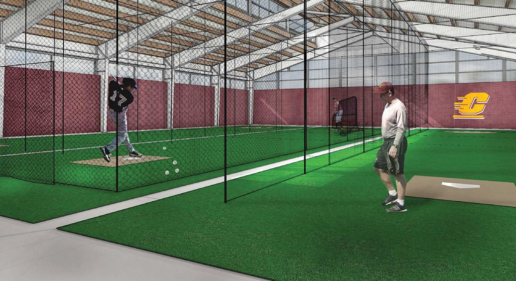 Facilities arms race rages on for Design indoor baseball facility