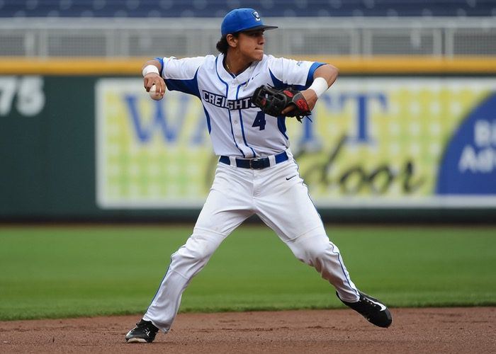 Shortstop Nicky Lopez (Creighton Athletics)