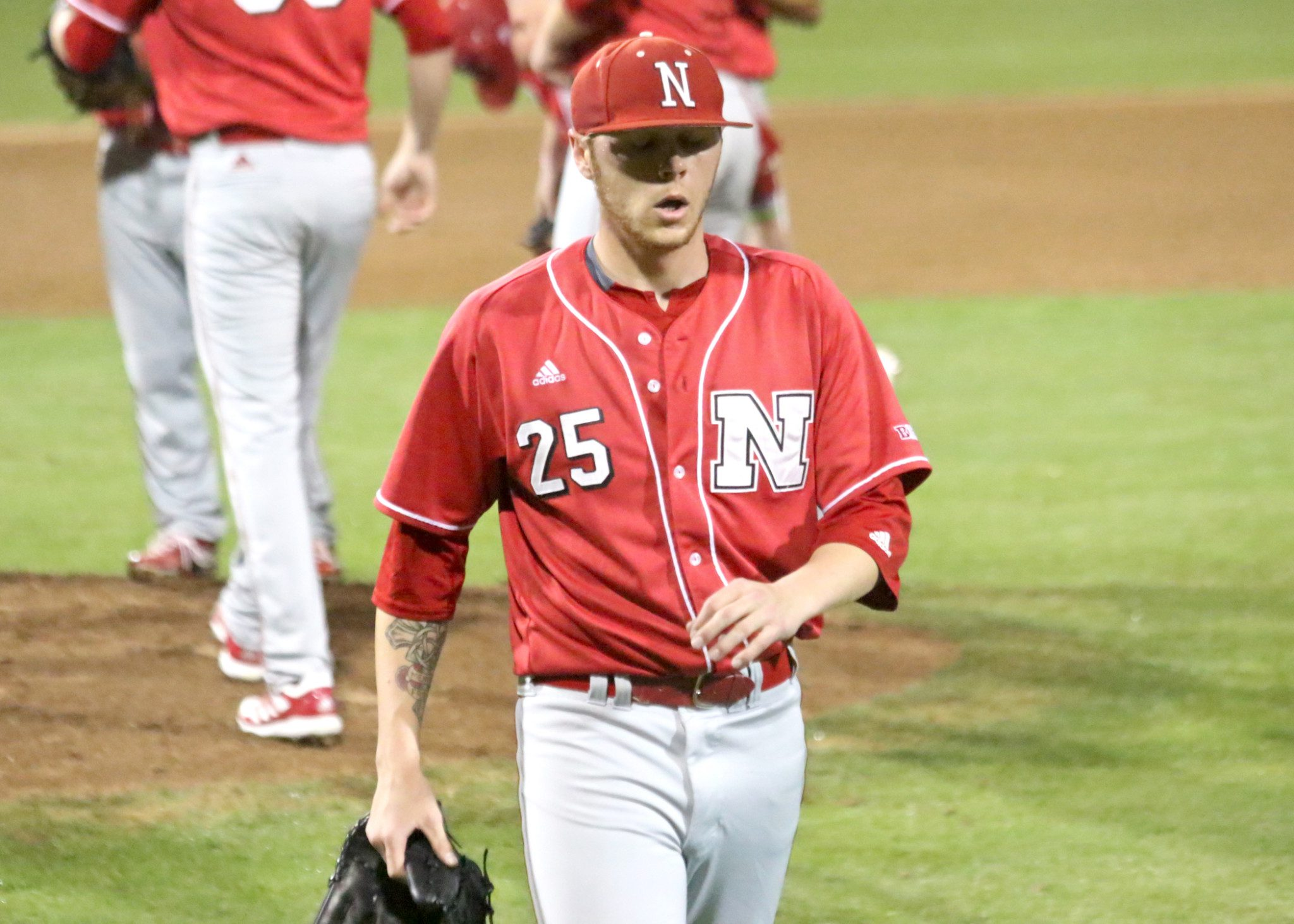 Nebraska starter Colton Howell had a night to forget. (Shotgun Spratling)