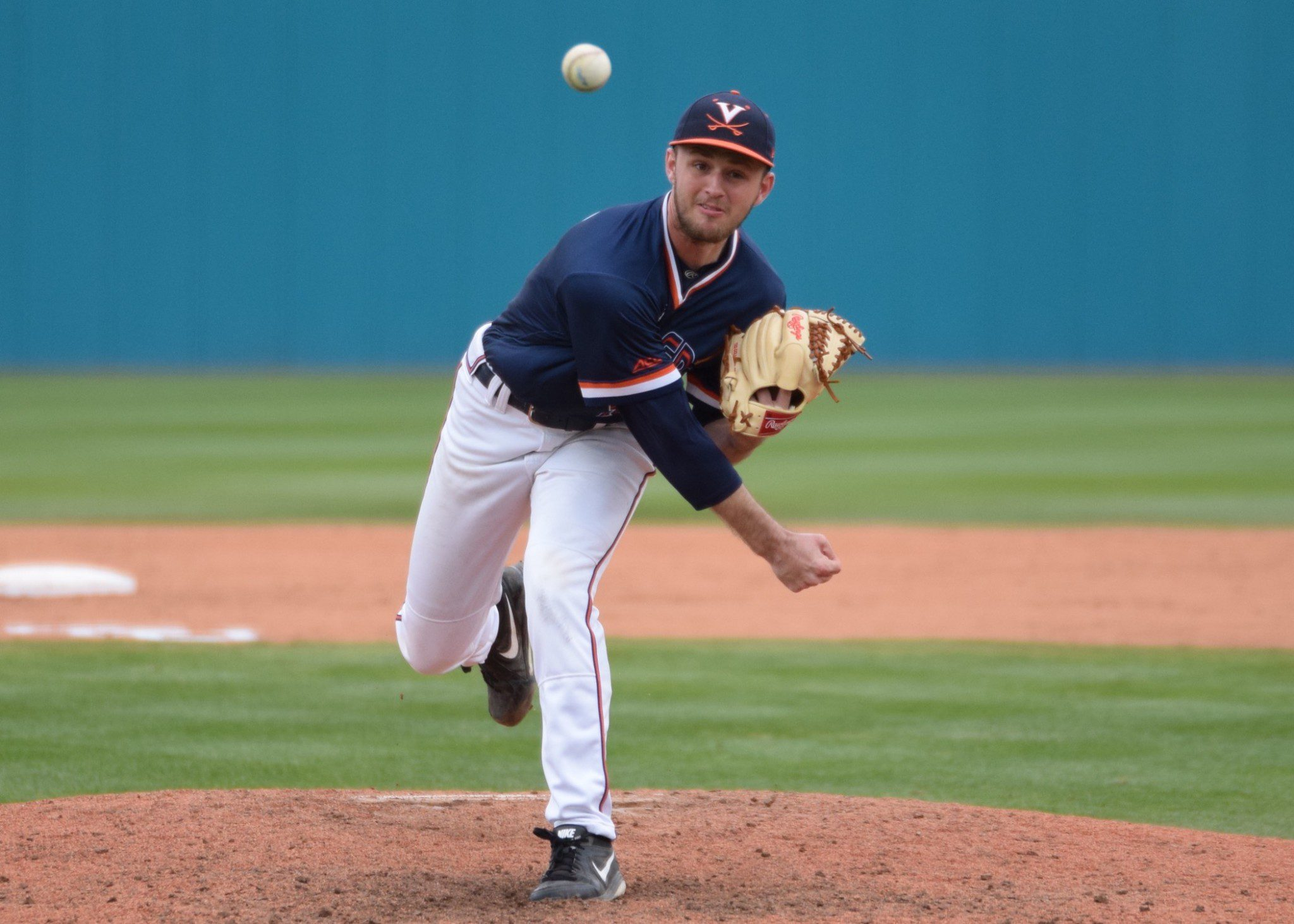 Brian O'Connor hopes Alec Bettinger finishes the season strong in the rotation. (Aaron Fitt)