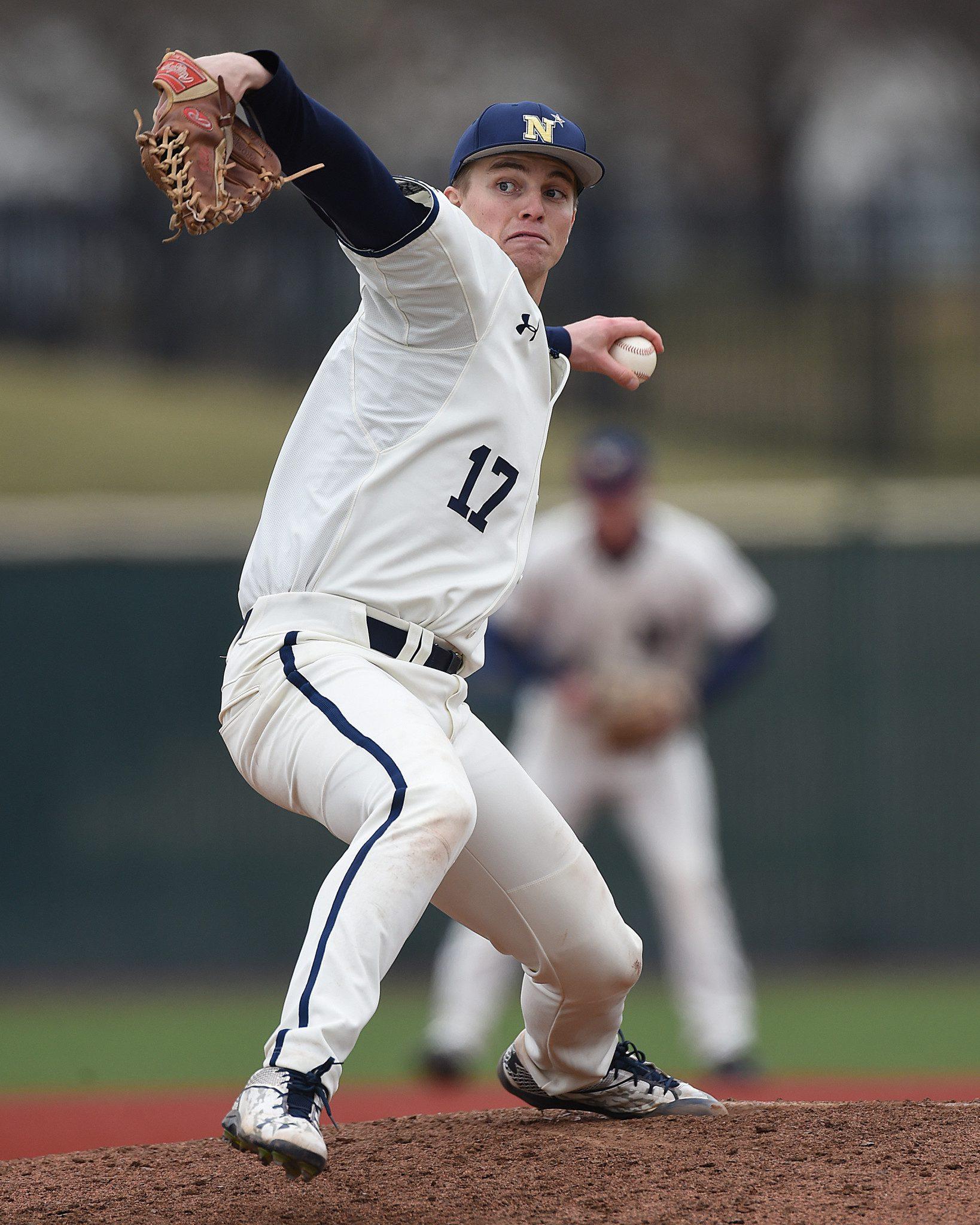 Navy's Luke Gillingham (Navy Athletics)