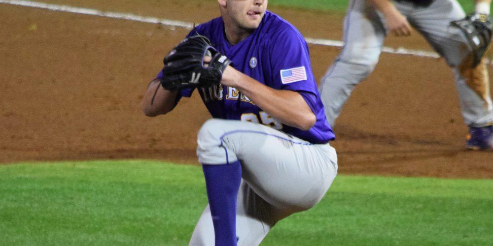 Alex Lange, LSU