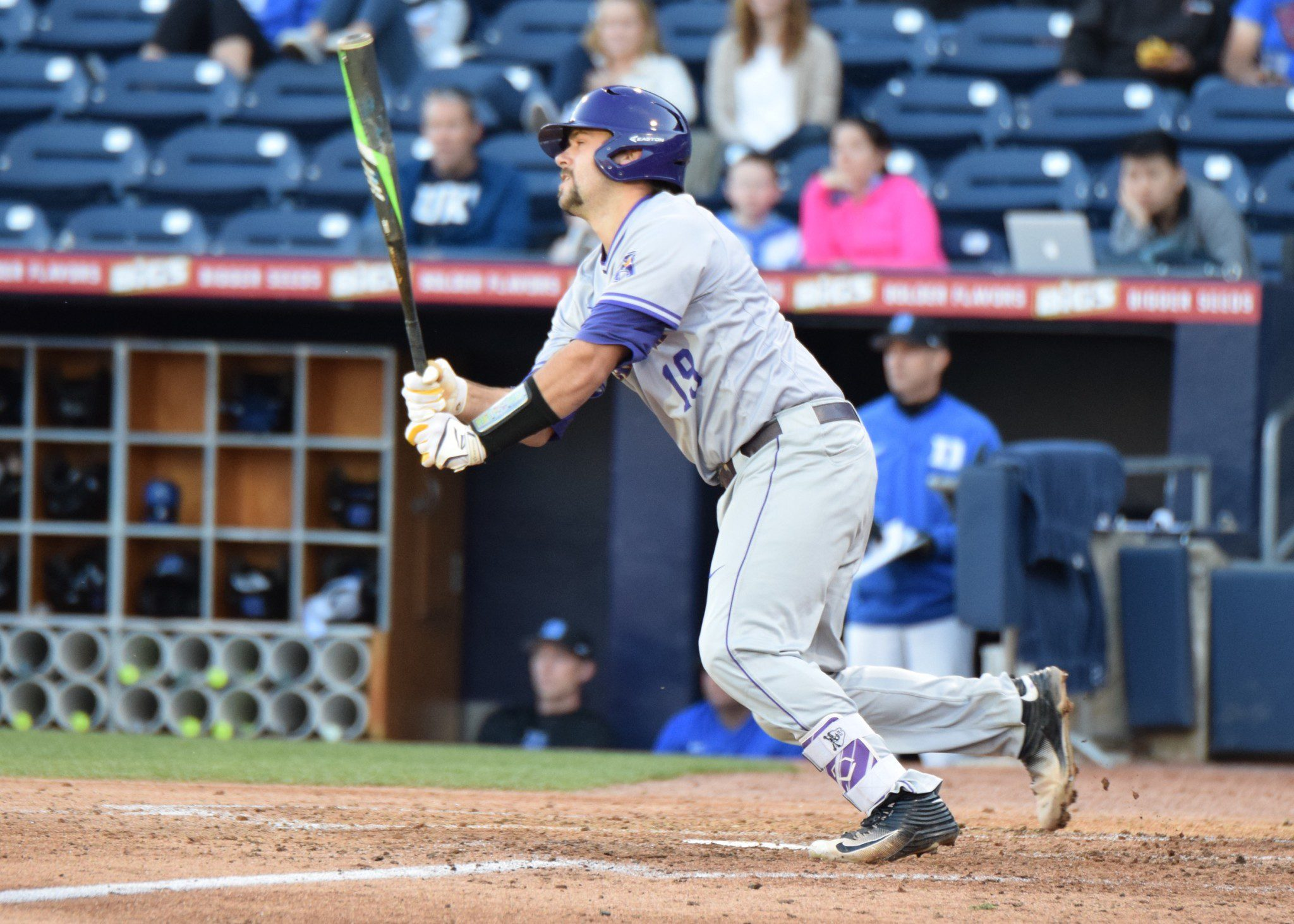 East Carolina catcher Travis Watkins (Aaron Fitt)