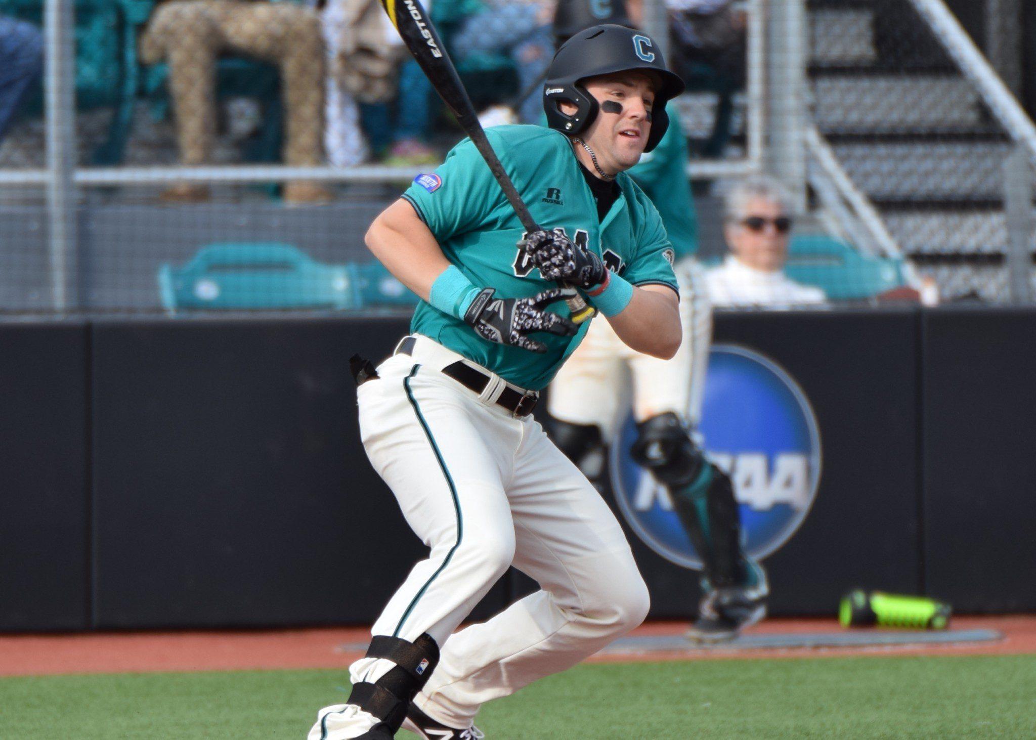 Coastal Carolina outfielder Connor Owings (Aaron Fitt)