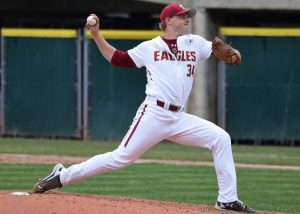 Boston College ace Mike King (Aaron Fitt)