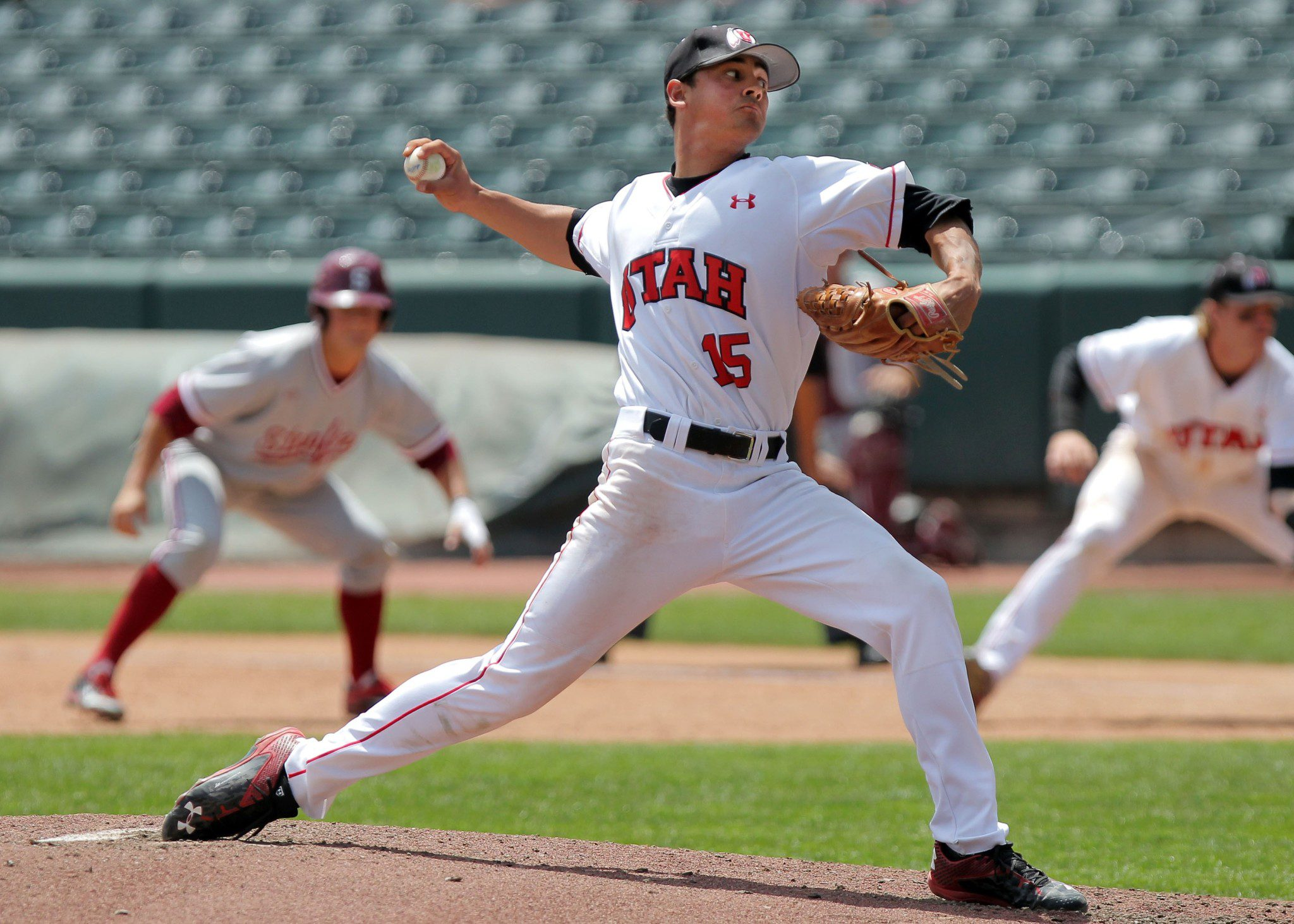 Utah ace Jayson Rose (Steve C. Wilson/University of Utah)