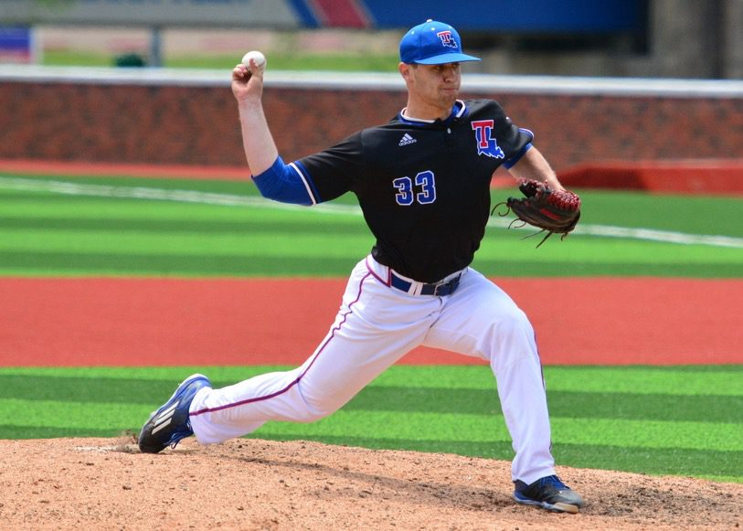 Louisiana Tech closer Adam Atkins (Louisiana Tech Athletics)