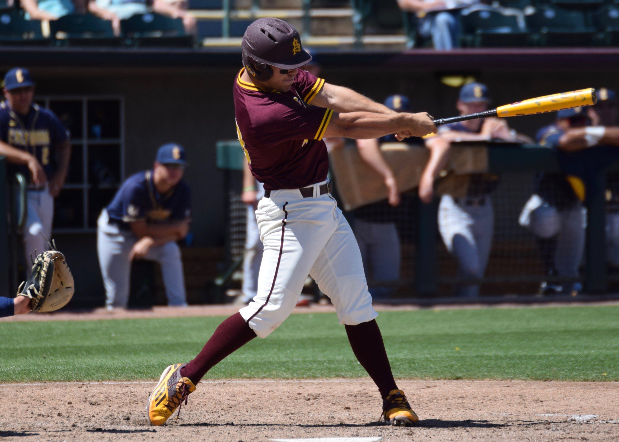 Arizona State's David Greer (Aaron Fitt)