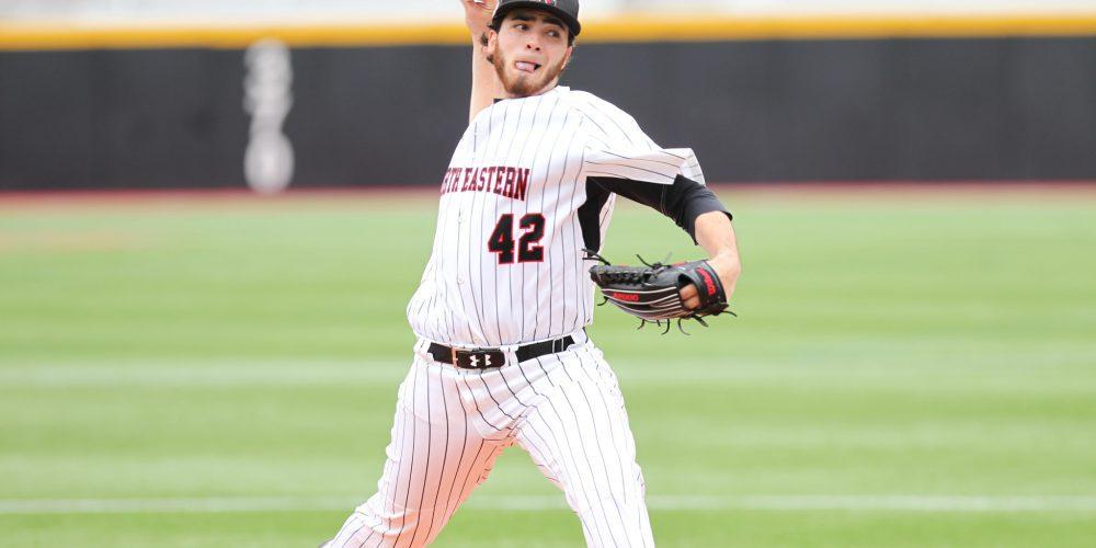 Aaron Civale (Northeastern Athletics/Jim Pierce)