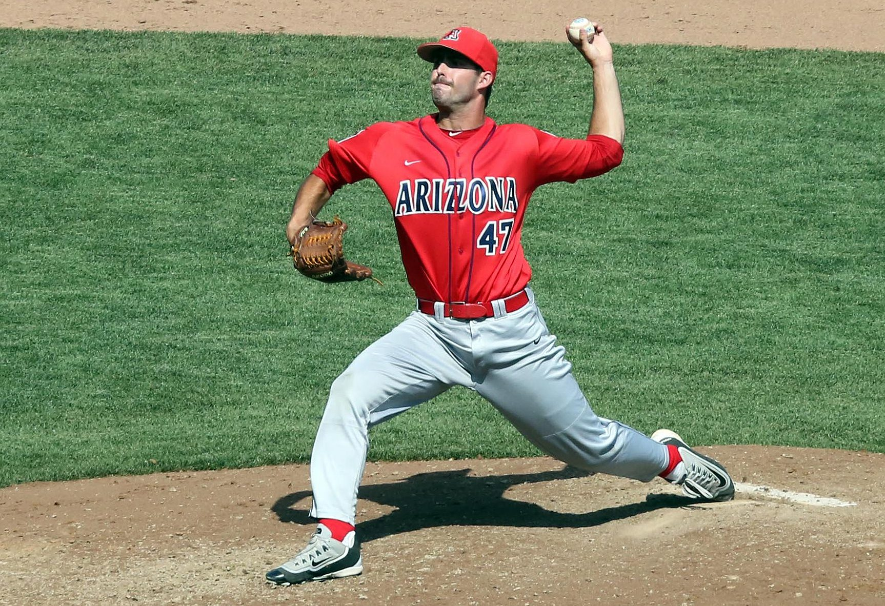 Arizona lefthander Cameron Ming was superb in his fourth appearance in Omaha (Eric Sorenson)
