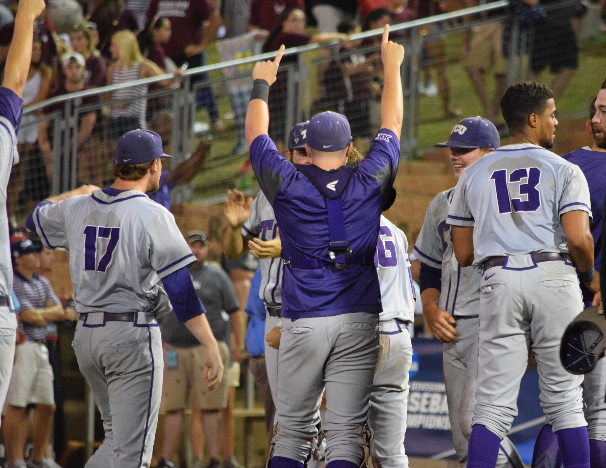 TCU had a night to remember in College Station. (Kendall Rogers)