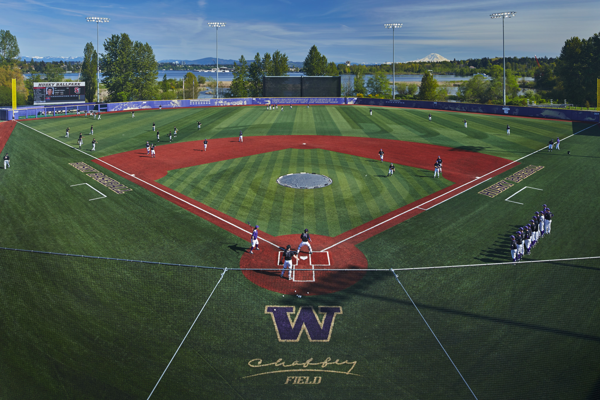 Husky Ballpark (Benjamin Benschneider/Washington Athletics)