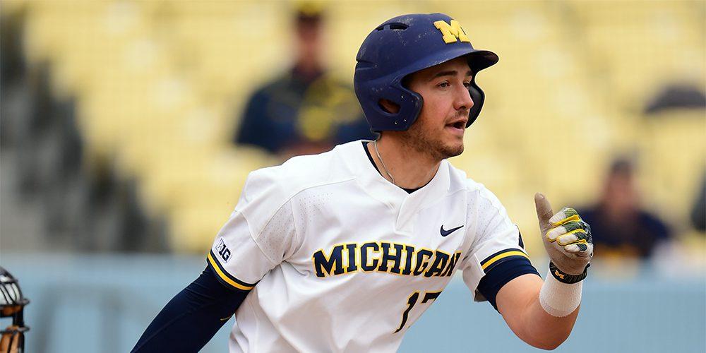 Michigan's Drew Lugbauer